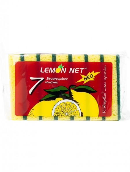 Lemon σφουγγάρι κουζίνας 7 τεμάχια