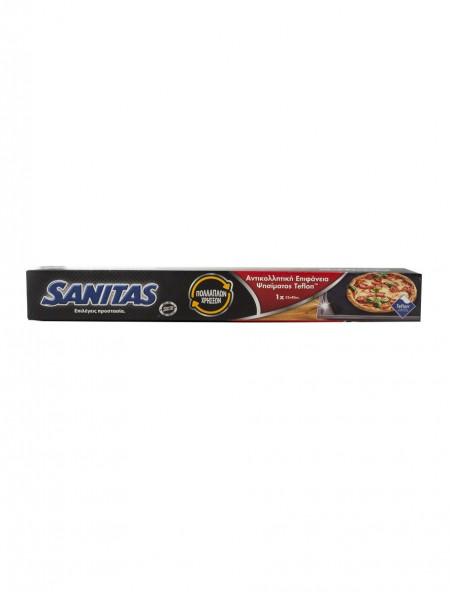 Sanitas αντικολλητική επιφάνεια ψησίματος teflon 33x40cm 1 τεμάχιο