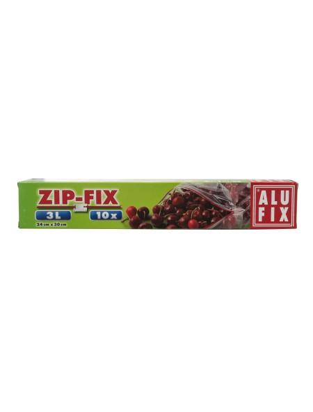 Alu Fix zip fix σακούλες τροφίμων 3L 10 τεμάχια