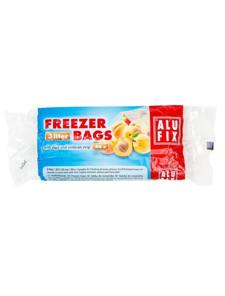 Alu Fix σακούλες κατάψυξης 3L 40 τεμάχια