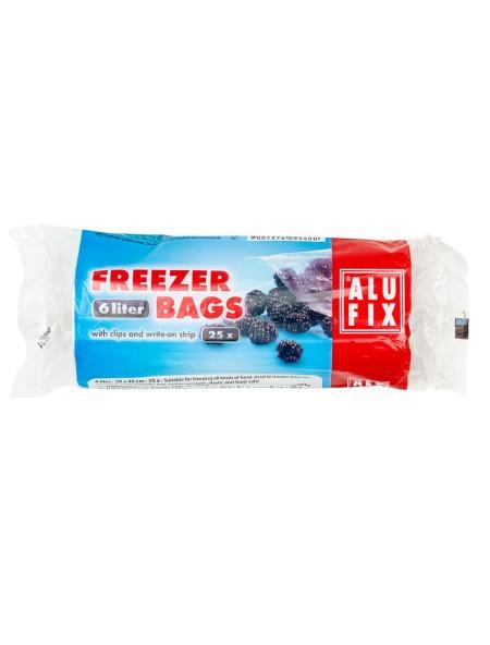 Alu Fix σακούλες κατάψυξης 6L 25 τεμάχια