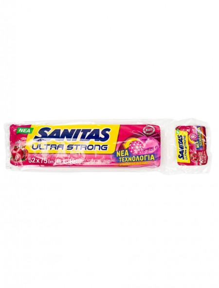 Sanitas αρωματικές σακούλες με ρόδι 10 τεμάχια