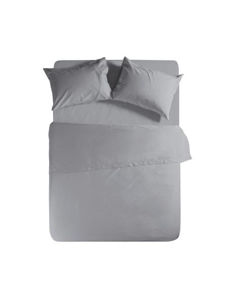 Σεντόνι υπέρδιπλο με λάστιχο Basic Light Grey NEF NEF