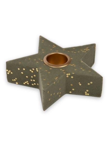 Ρεσό αστέρι με βελούδινη υφή