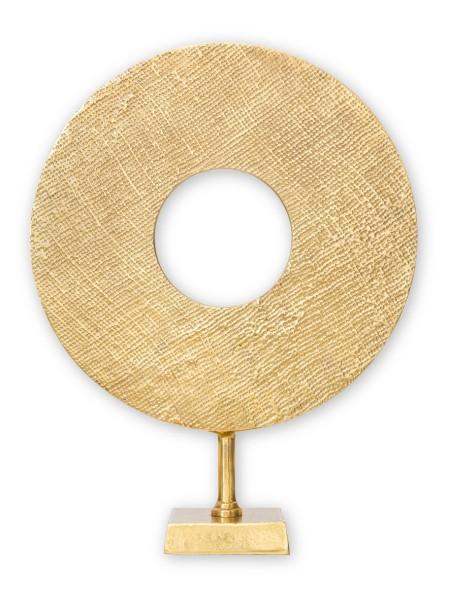 Διακοσμητικό σε βάση μεταλλικό στεφάνι