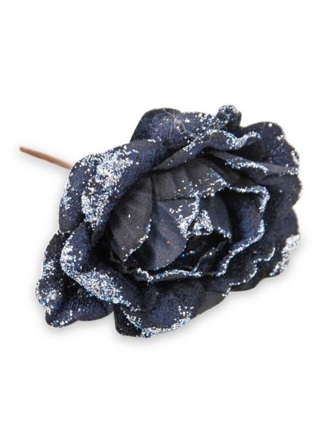 Τριαντάφυλλο υφασμάτινο με στρας