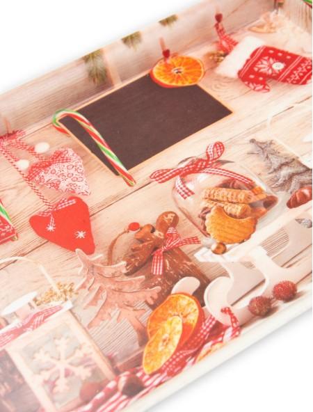 Χριστουγεννιάτικος δίσκος σερβιρίσματος