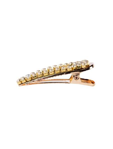 Κοκκαλάκι μαλλιών clip με πέρλες