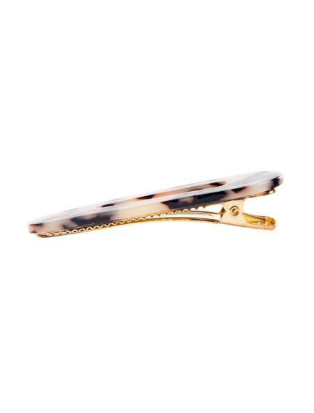 Κοκκαλάκι μαλλιών clip λεοπάρ