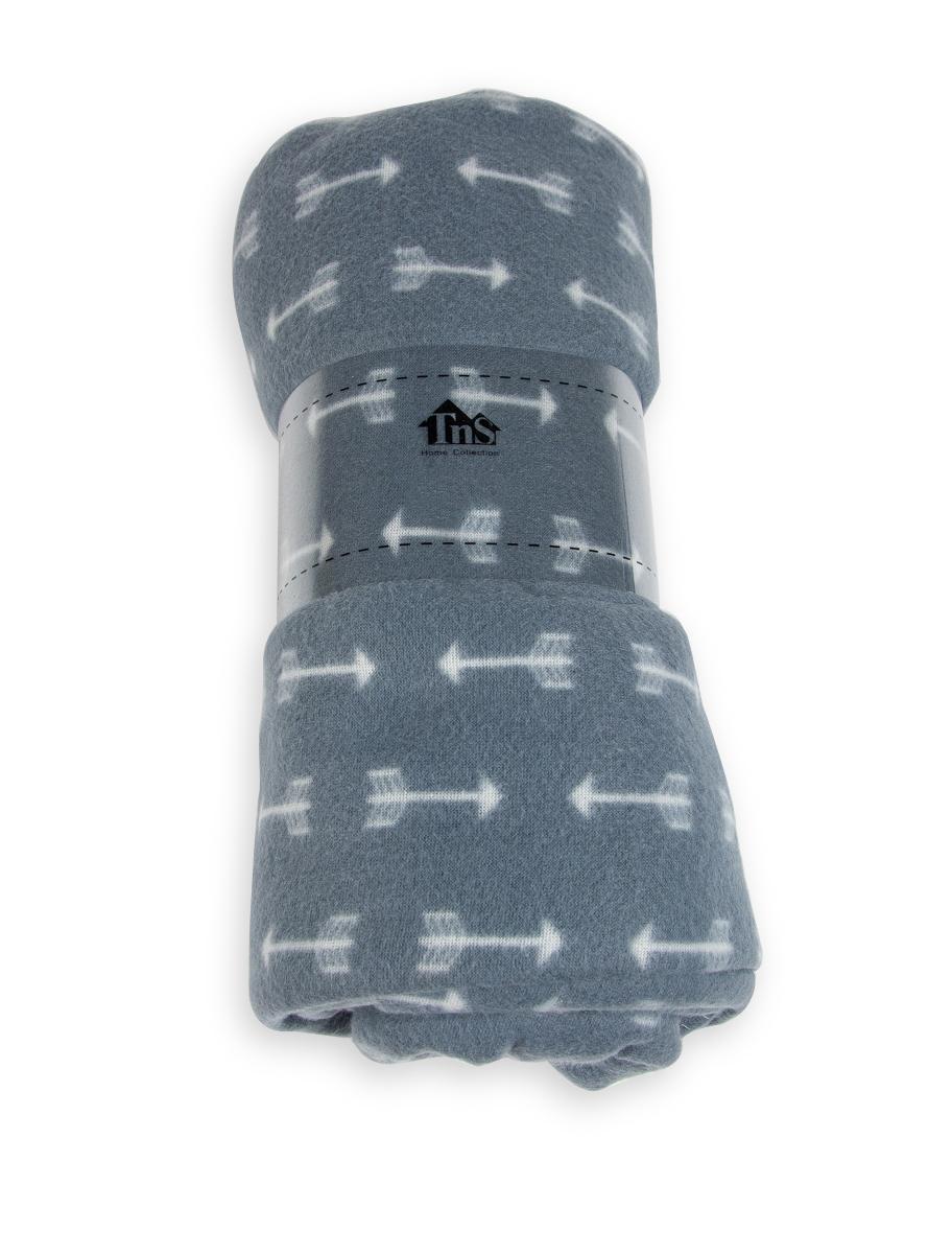 Κουβέρτα μονή fleece με βέλη