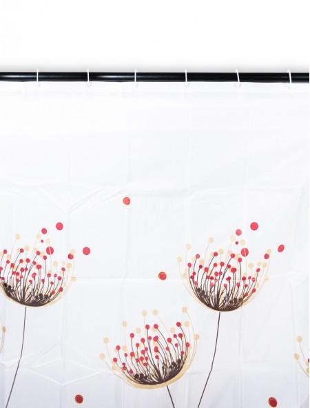 Κουρτίνα μπάνιου pacific με παπαρούνες