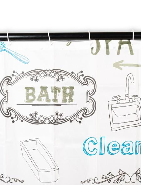 Κουρτίνα μπάνιου pacific bath