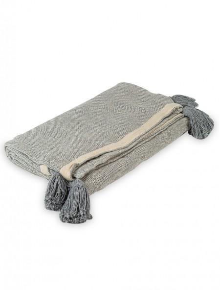 Ριχταρι διθέσιου καναπέ με φούντες