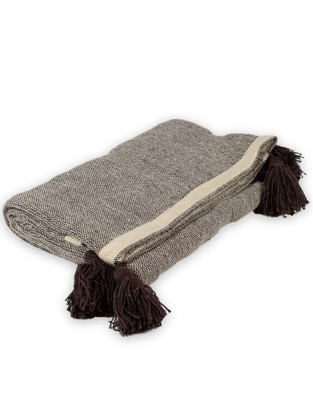 Ριχταρι τριθέσιου καναπέ με φούντες