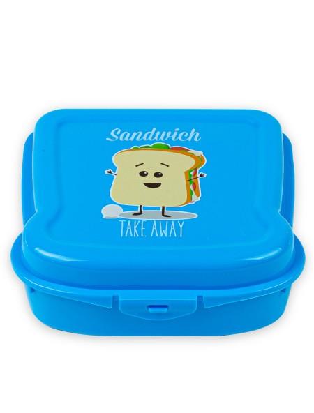 Φαγητοδοχείο τετράγωνο για toast Take away