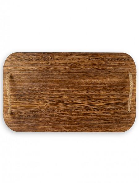 Δίσκος σερβιρίσματος ξύλινος ορθογώνιος 35x19cm