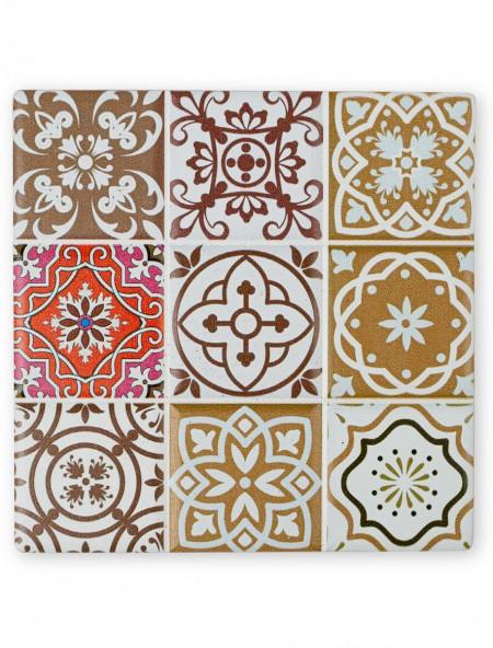 Σουβέρ κεραμικό τετράγωνο Mosaic