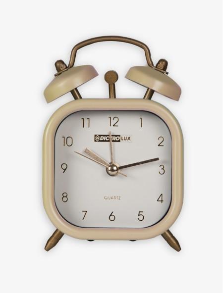 Ρολόι ξυπνητήρι κρεμ