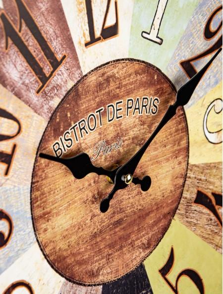 Ρολόι τοίχου Bistrot de Paris