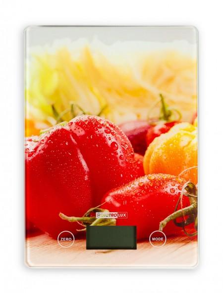 Ζυγαριά κουζίνας ηλεκτρονική με σχέδιο λαχανικά