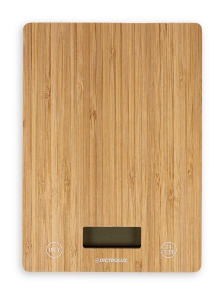 Ζυγαριά κουζίνας ηλεκτρονική με επιφάνεια bamboo
