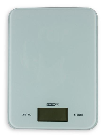 Ζυγαριά κουζίνας ηλεκτρονική με λευκή βάση