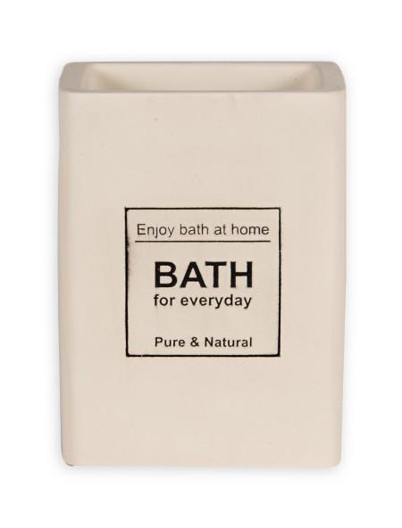 Δοχείο για οδοντόβουρτσες τσιμεντένιο Bath
