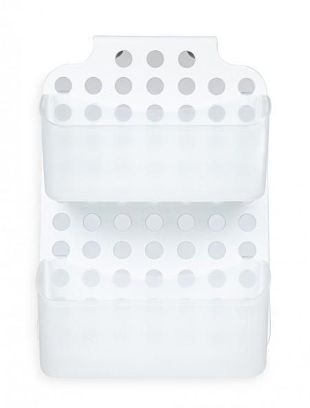 Ραφάκι μπάνιου με 2 θήκες