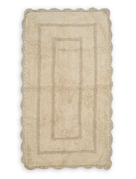 Χαλάκι μπάνιου με ορθογώνιο σχέδιο