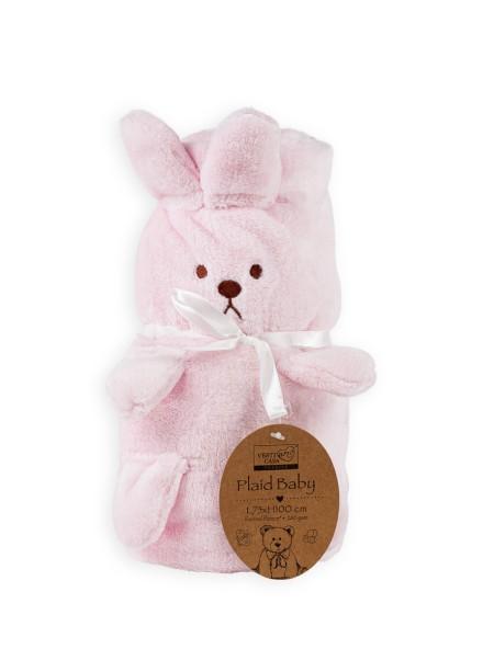 Βρεφική κουβέρτα fleece Bunny