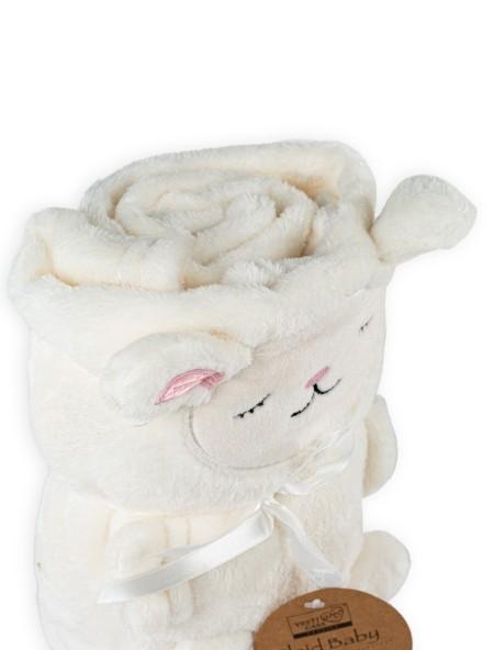 Βρεφική κουβέρτα fleece Sheep
