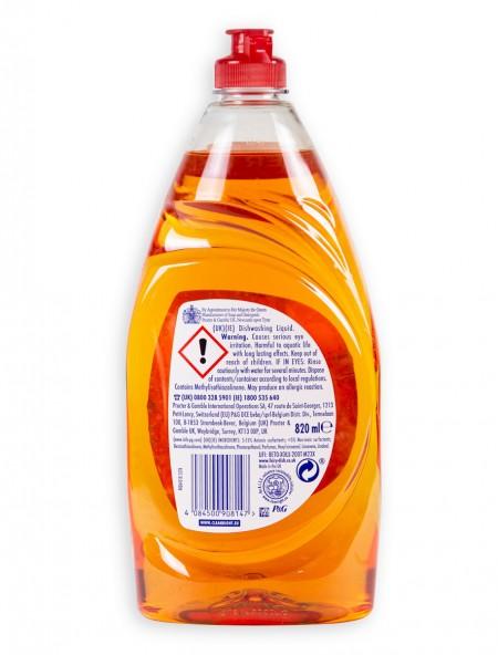 Fairy clean & fresh υγρό πιάτων citrus grove 820ml