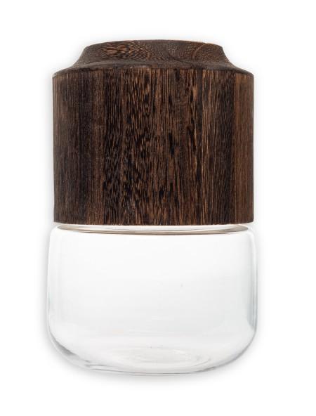 Βάζο γυάλινο με ξύλο