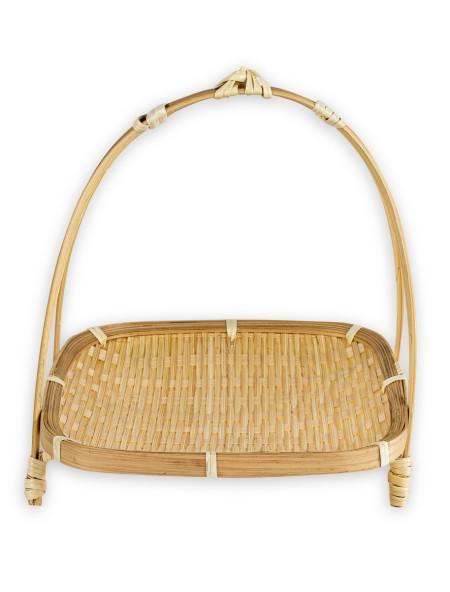 Δίσκος bamboo σε βάση