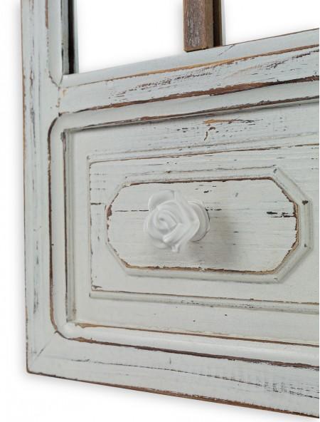 Καθρέφτης τοίχου με ξύλινο πλαίσιο