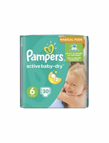 Pampers pants active baby dry N.6 15+kg 30 τεμάχια