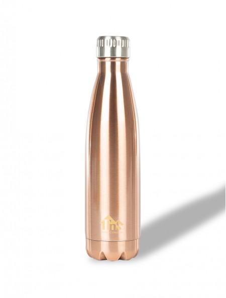 Θερμός μπουκάλι επενδυμένος με καπάκι inox 750ml