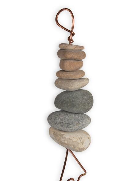 Διακοσμητικό κρεμαστό μόμπιλε με πέτρα