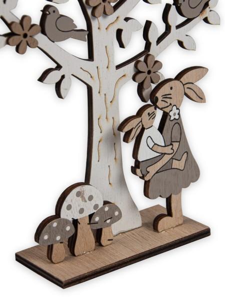 Διακοσμητικό ξύλινο δεντράκι