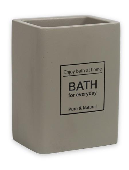 Δοχείο για οδοντόβουρτσες κεραμικό Bath