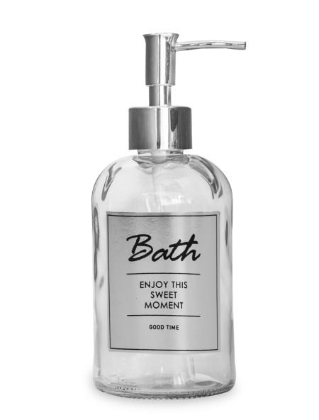 Διανεμητής σαπουνιού γυάλινος Bath