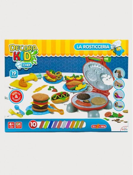Παιδικό παιχνίδι με κουζινικά La Rosticceria