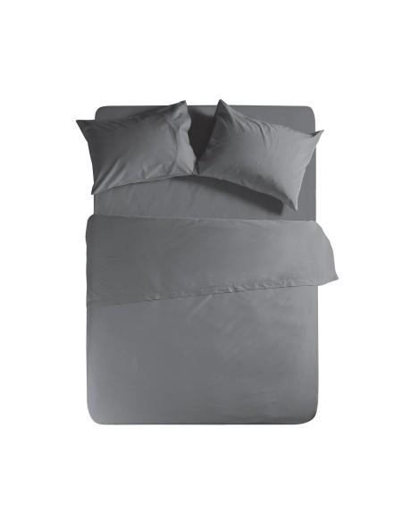 Σεντόνι υπέρδιπλο με λάστιχο Basic Dark Grey NEF NEF