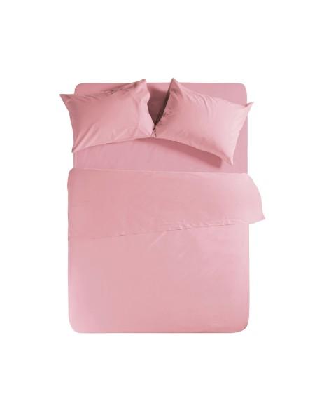 Σεντόνι υπέρδιπλο με λάστιχο Basic Pink NEF-NEF