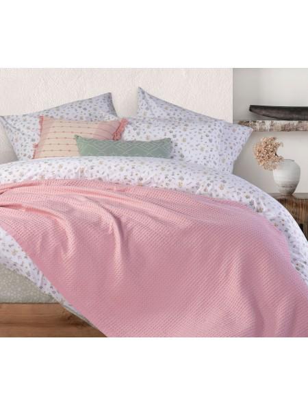 Κουβέρτα πικέ μονή New Golf Pink NEF-NEF