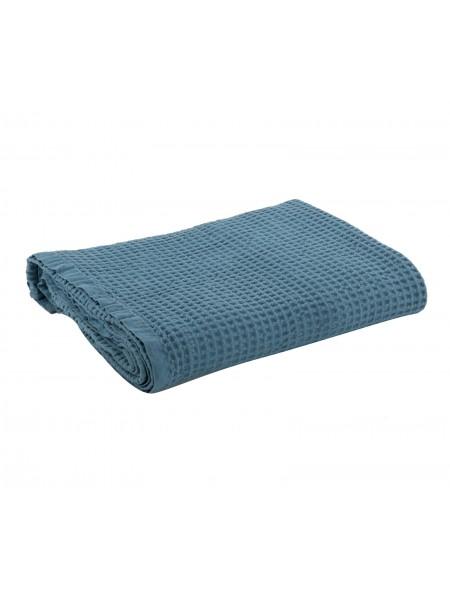 Κουβέρτα πικέ υπέρδιπλη New Golf Dusty Aqua NEF-NEF