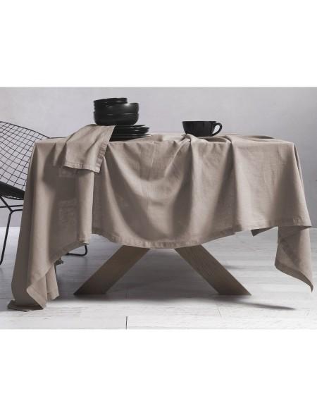 Τραπεζομάντηλο Cotton-Linen Beige NEF-NEF