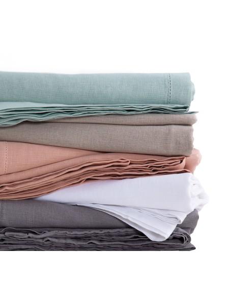 Τραπεζομάντηλο Cotton-Linen Grey NEF-NEF