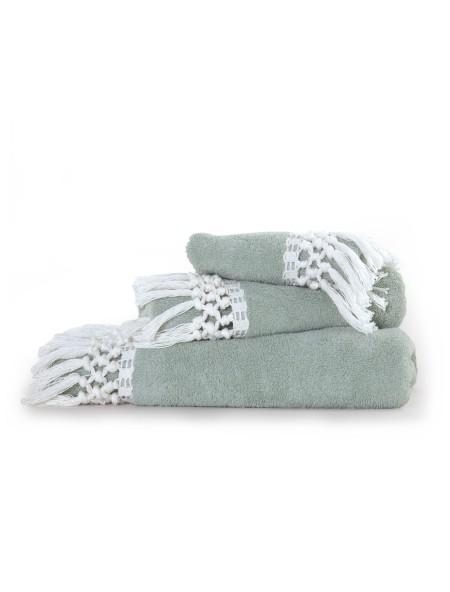 Πετσέτες σετ 3 τεμαχίων Virgin NEF-NEF Green