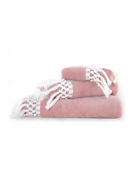 Πετσέτες σετ 3 τεμαχίων Virgin NEF-NEF Pink